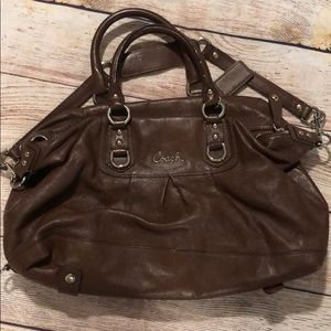 Coach Leather Brown Purse